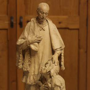 Sant Josep Oriol curant el Bergant