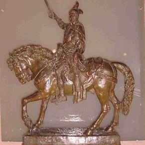 Jaume I a cavall