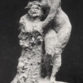 Dona nua amb Hermes