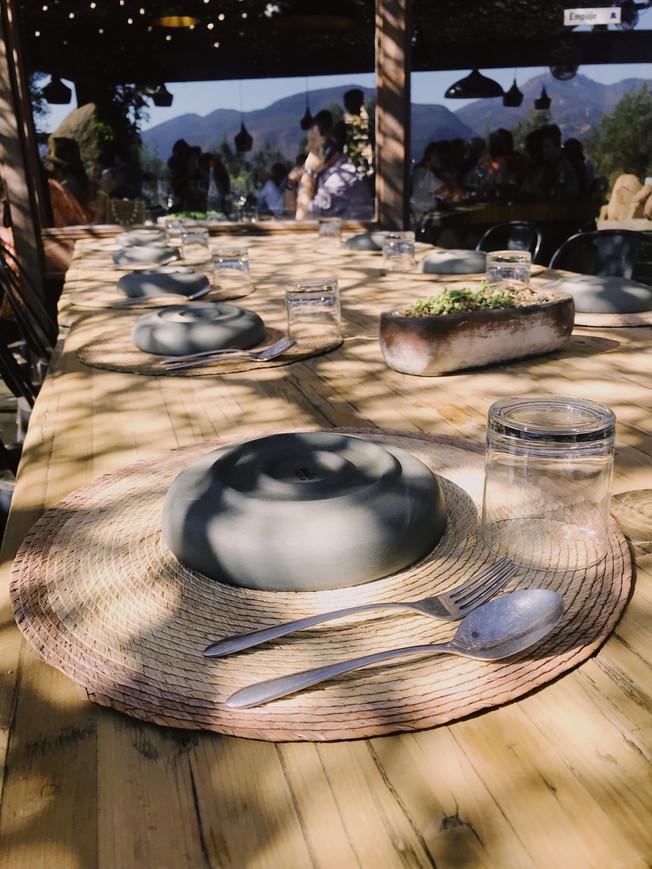 Fauna Restaurant in Bruma, Valle de Guadalupe.
