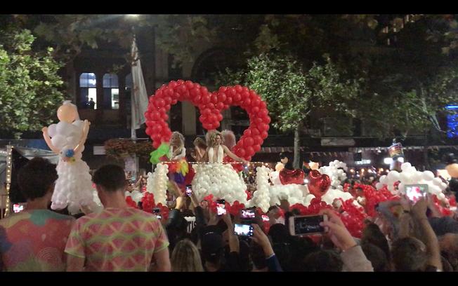 Mardi Gras in Sydney. Mardi Gras w Sydney