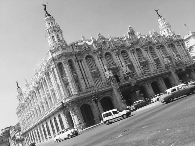 Gran Teatro de La Habana. Teatr Wielki w Hawanie.