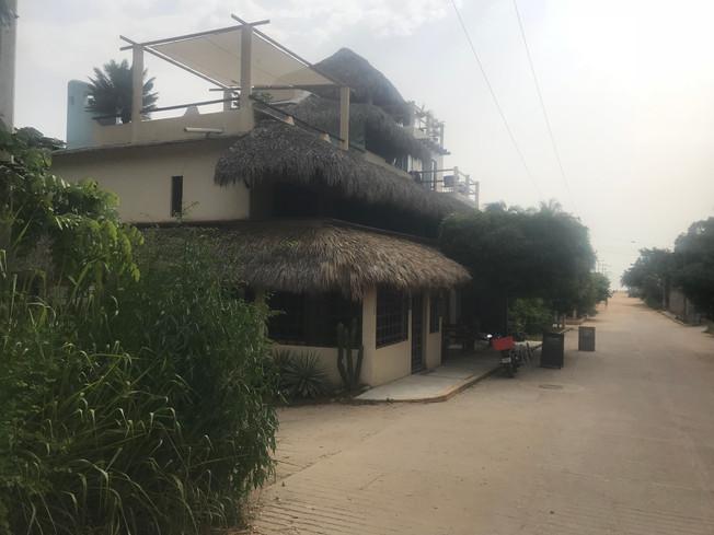 Alivo Kuauitl Restaurant, Puerto Escondido. Restauracja Alivo Kuauitl.