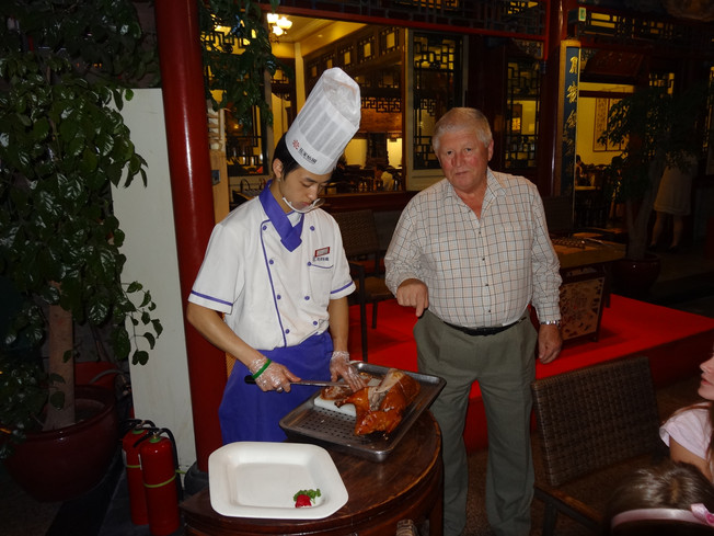 Hua's Courtyard - our favorite restaurant in Beijing. Nasza ulubiona restauracja w Pekinie