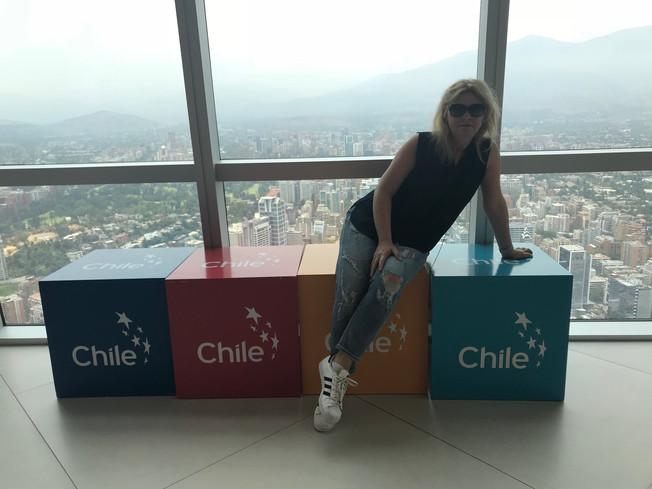 Santiago de Chile, day 2. Zwiedzanie Santiago de Chile, dzień 2.