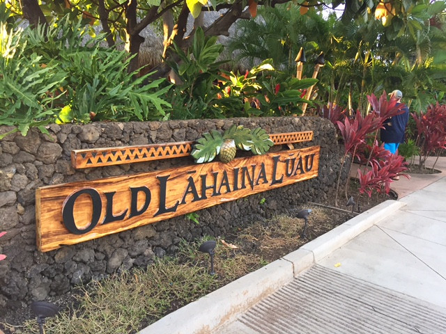 Old Lahaina Luau restaurant with show Maui