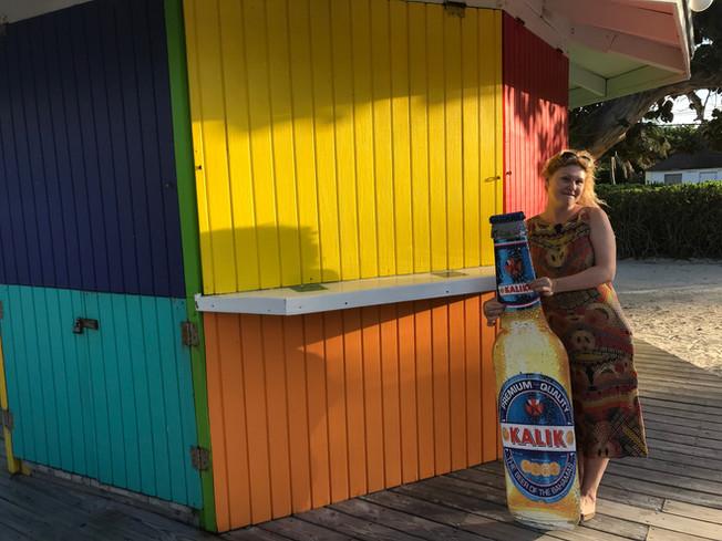 Big D's Conch Spot. Restauracja Big D's Conch Spot. Exuma. Bahamas