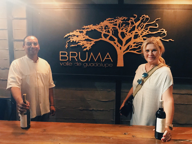 Bruma Winery in Valle de Guadalupe.
