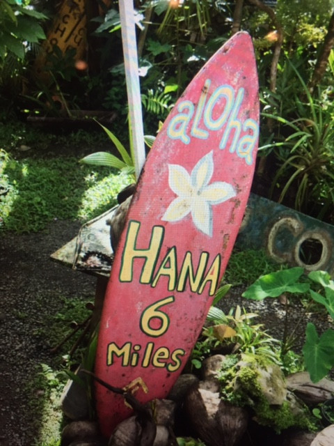 Hana Road one day trip. Droga do Hana