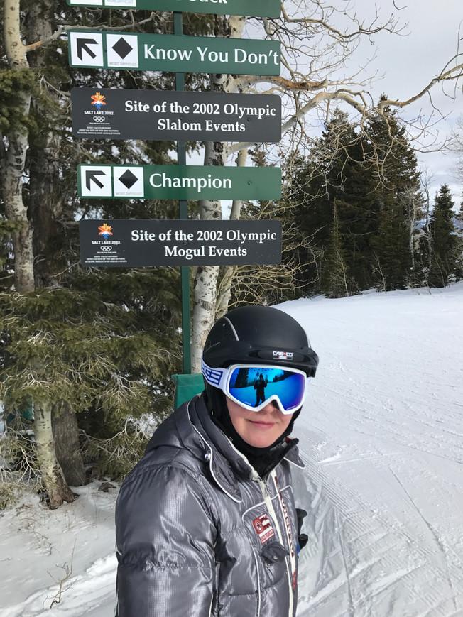 Skiing in Deer Valley. Narty w Deer Valley.
