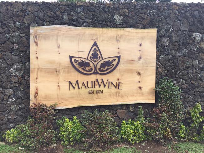 Maui Wine tasting