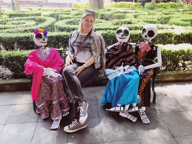 Day of the Dead in Mexico City. Best things to do. Best places to go.