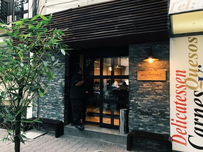 Sushi Iwashi restaurant in Mexico City.