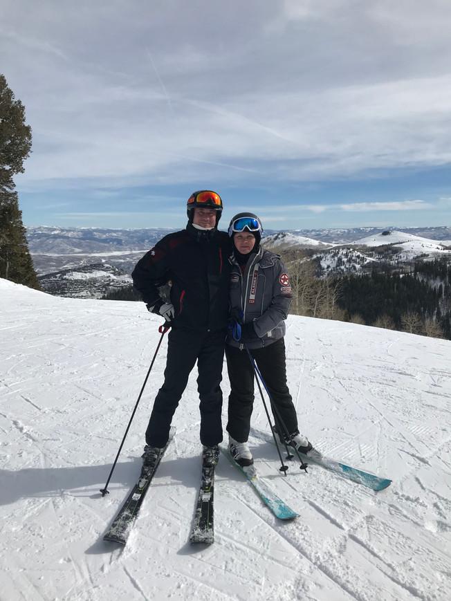 Park City the best ski in my life. Park City najlepsze narty w moim życiu.