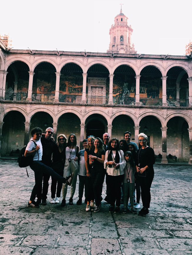 Visit the Government Palace in Morelia.