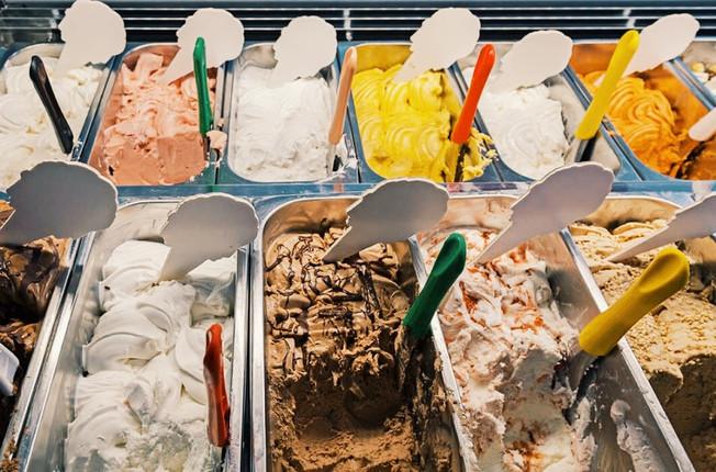 BimBom ice cream in Havana, Cuba.