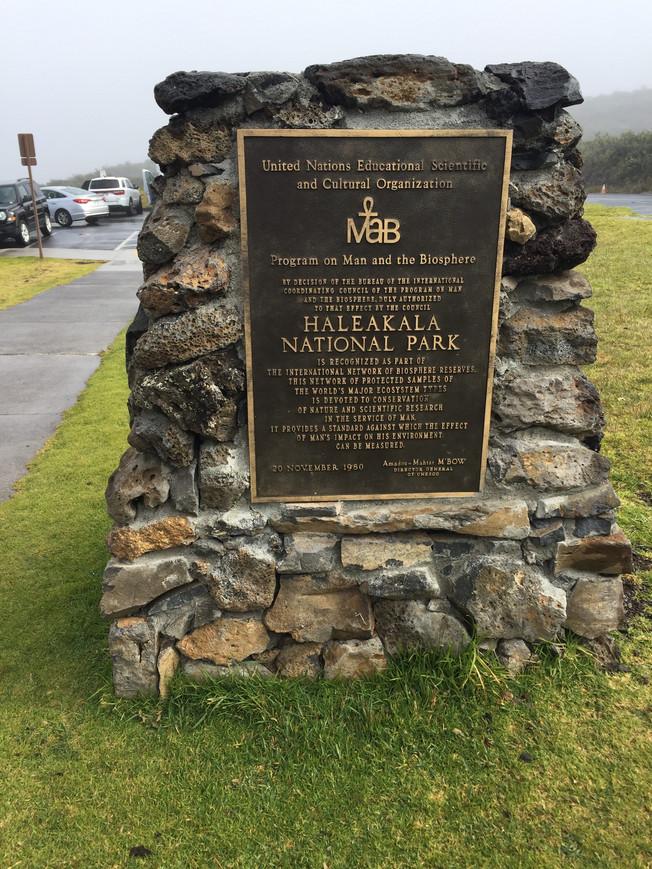 Haleakala Volcano at Maui. Wulkan Haleakala na wyspie Maui.