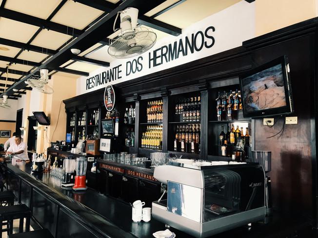 Bar Dos Hermanos in Havana.
