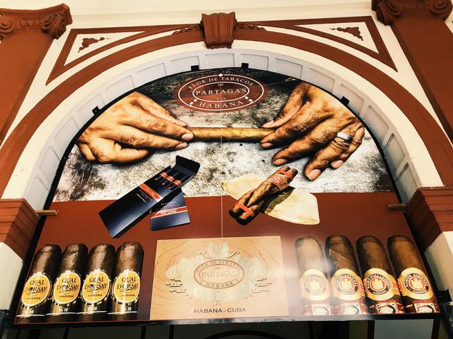 Jaime Partagas Cigar Factory, Havana, Cuba. Fabryka Cygar Jaime Partagas w Hawanie.