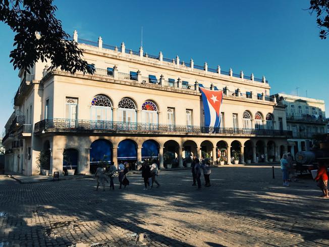 Plaza de Armas Square, Havana-Cuba. Plac Broni w Hawanie na Kubie.
