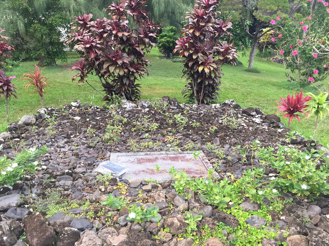 Charles A.  Lindbergh's Grave