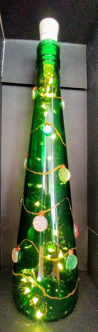 Christmas tree - lit