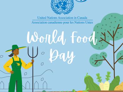 UNA-Canada Celebrates World Food Day!