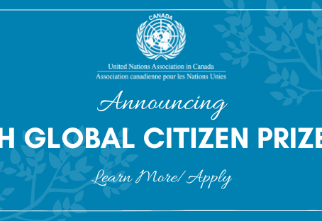 Youth Global Citizen Prize 2020