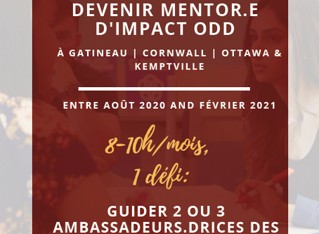 Postule pour Devenir Mentor.e. d'Impact ODD