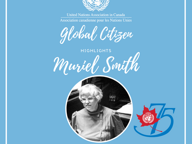 Global Citizen Highlight- Muriel Smith