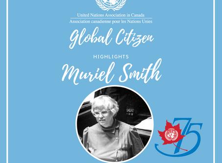 Global Citizen Highlight- Muriel Smith