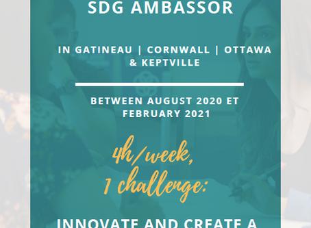 Apply to Become an SDG Ambassador!