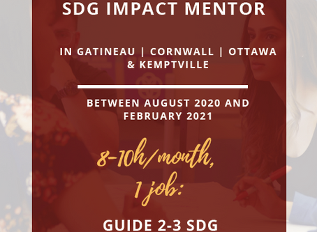 Apply to Become an SDG Impact Mentor!