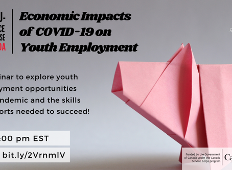UNA-Canada Webinar on the Economic Impacts of COVID-19 on Youth Employment