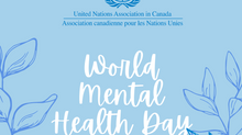 World Mental Health Day // Journée mondiale de la Santé Mentale