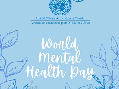 World Mental Health Day // Journée mondiale de la Santé Mentale