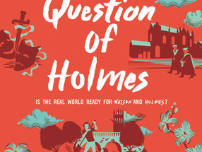 Review: A Question of Holmes by Brittany Cavallaro (Spoiler-Free)