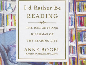 Review: I'd Rather Be Reading by Anne Bogel