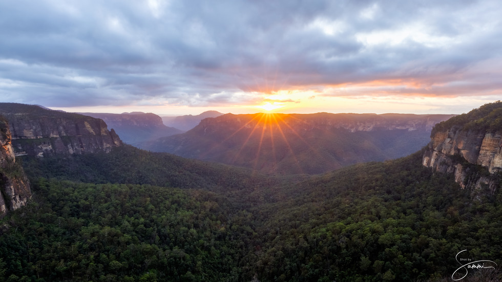 Govetts Leap, Blue Mountains, NSW