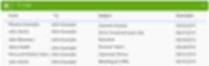 Outlook Integration ScreenShot