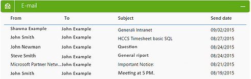 Outlook Integration ScreenShot