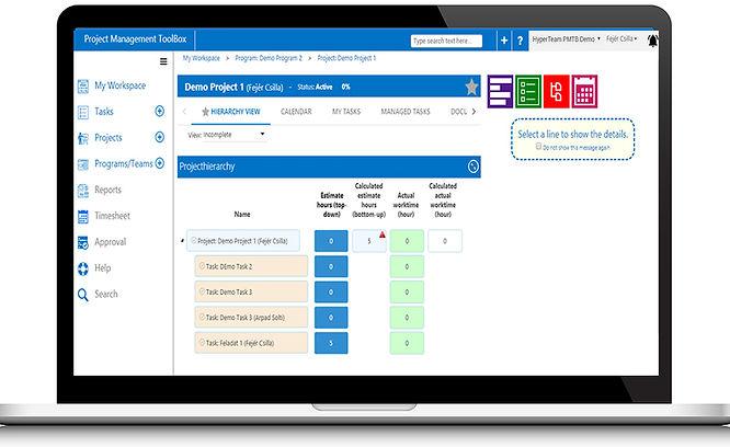 Projec Management Software Sceenshot Dektop