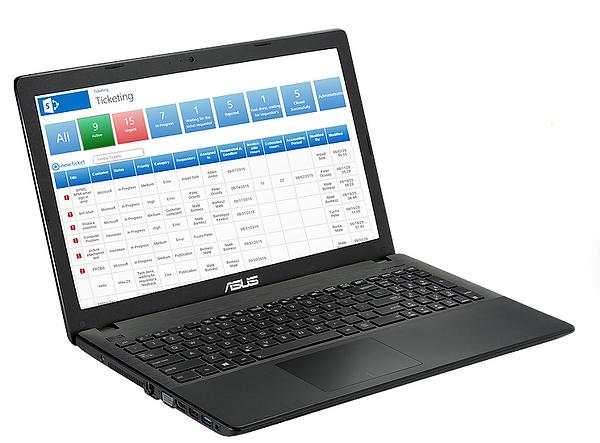 laptop Tickting Software Screenshot