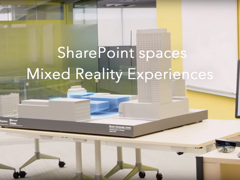 Microsoft's SharePoint spaces brings mixed reality to the platform