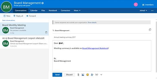Board Management ScreenShot
