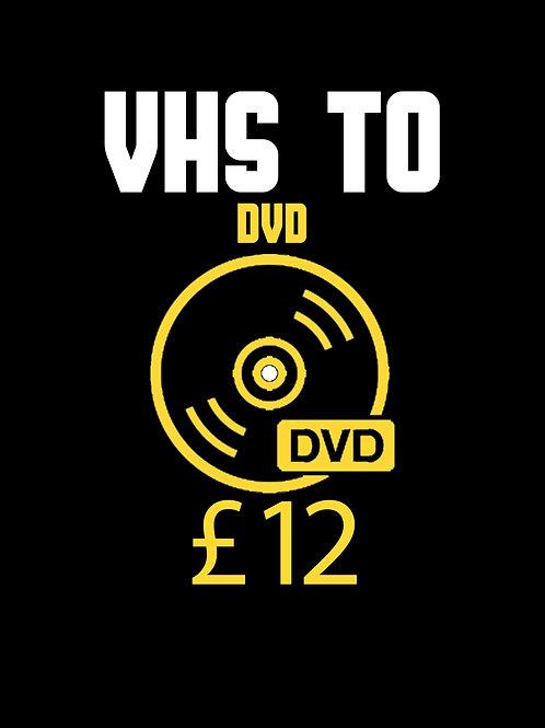 VHS Transfer DVD