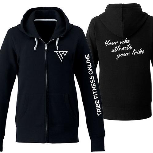 TF09 - Ladies full zip hoodie - Chandail capuchon zipper femme