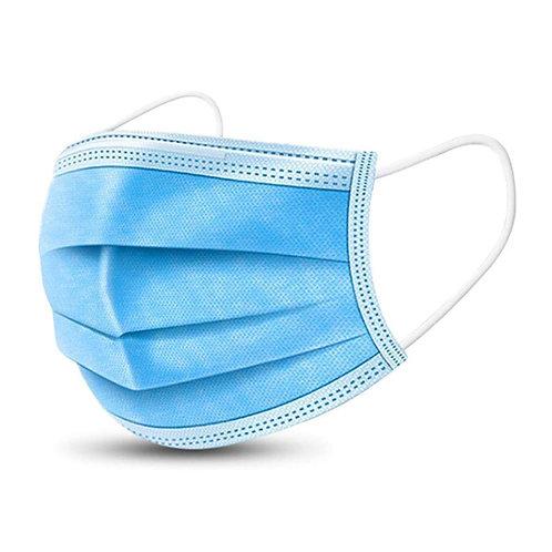 Boîte de 50 masques jetables - bleus