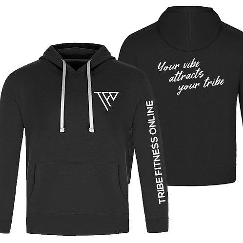 TF05 - Men black hoodie - Chandail capuchon noir homme