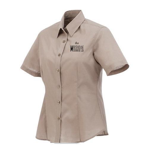 AMCCA01 - Chemise régulière femme - manches courtes